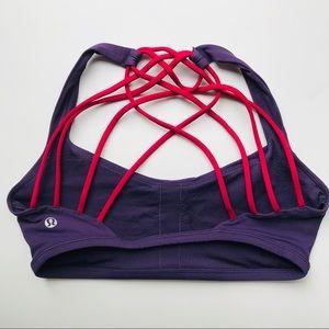 Lululemon strappy back bra